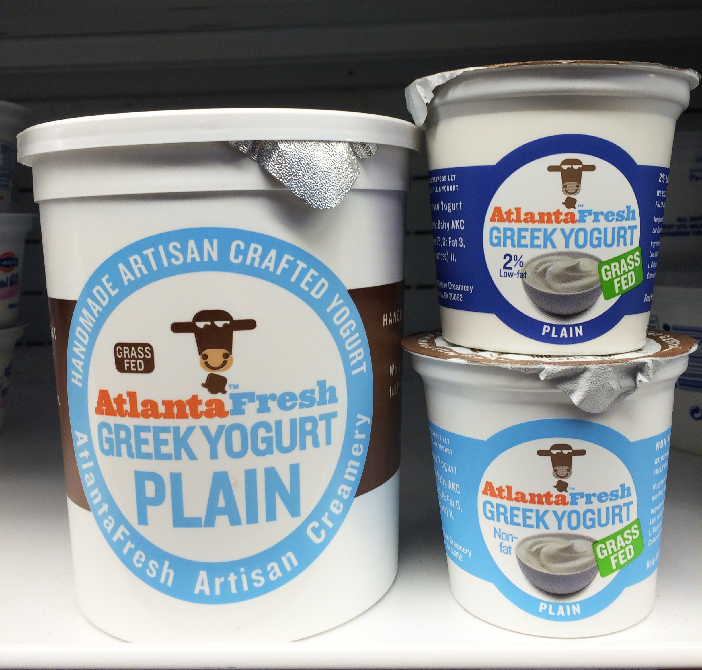 AtlantaFresh Plain Greek Yogurt