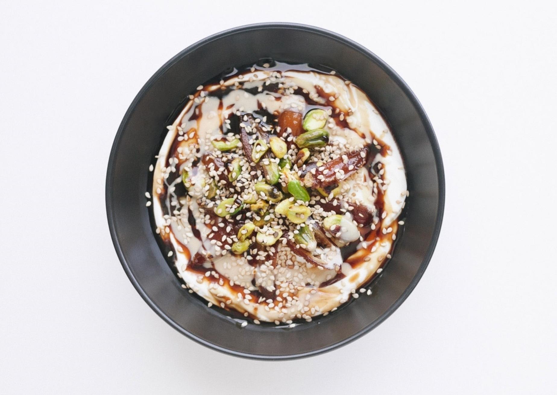 Middle Eastern Yogurt Bowl (#1)