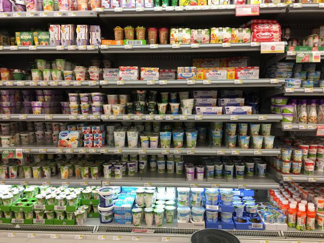 Yogurt Case in Vienna, Austria