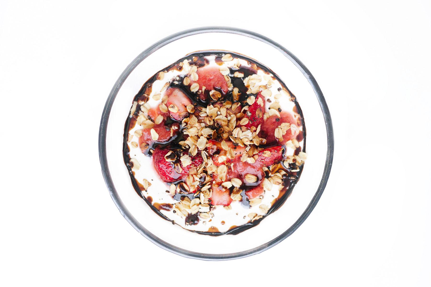 Yogurt Bowls!   Strawberry Black Pepper Yogurt Bowl (#4)