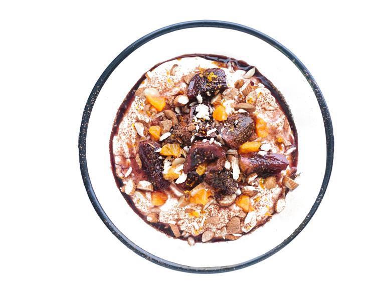 Yogurt Bowls!   Fig Spoon Sweets Yogurt Bowl (#5)