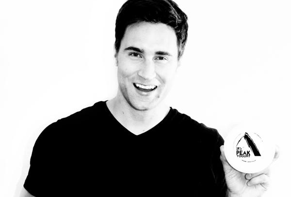 Evan Sims, founder of Peak Yogurt