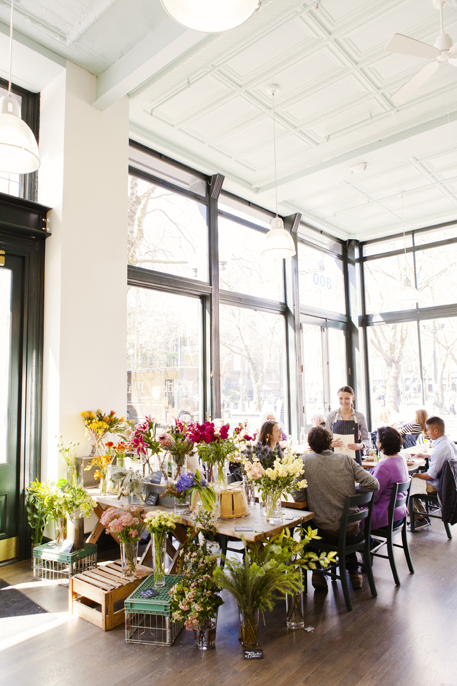 London Plane Cafe + Flowers