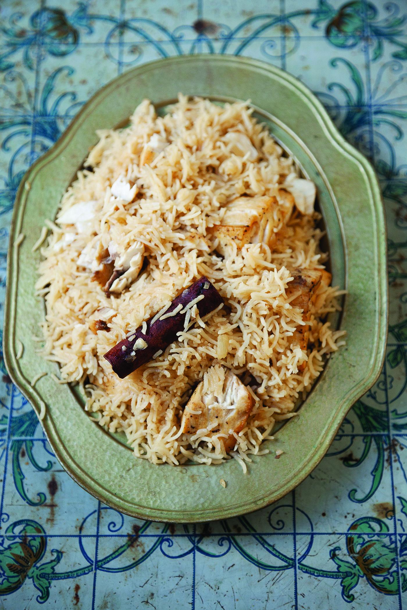 Sayadiya from Felicia Campbell's The Food of Oman   Photograph © Ariana Lindquist