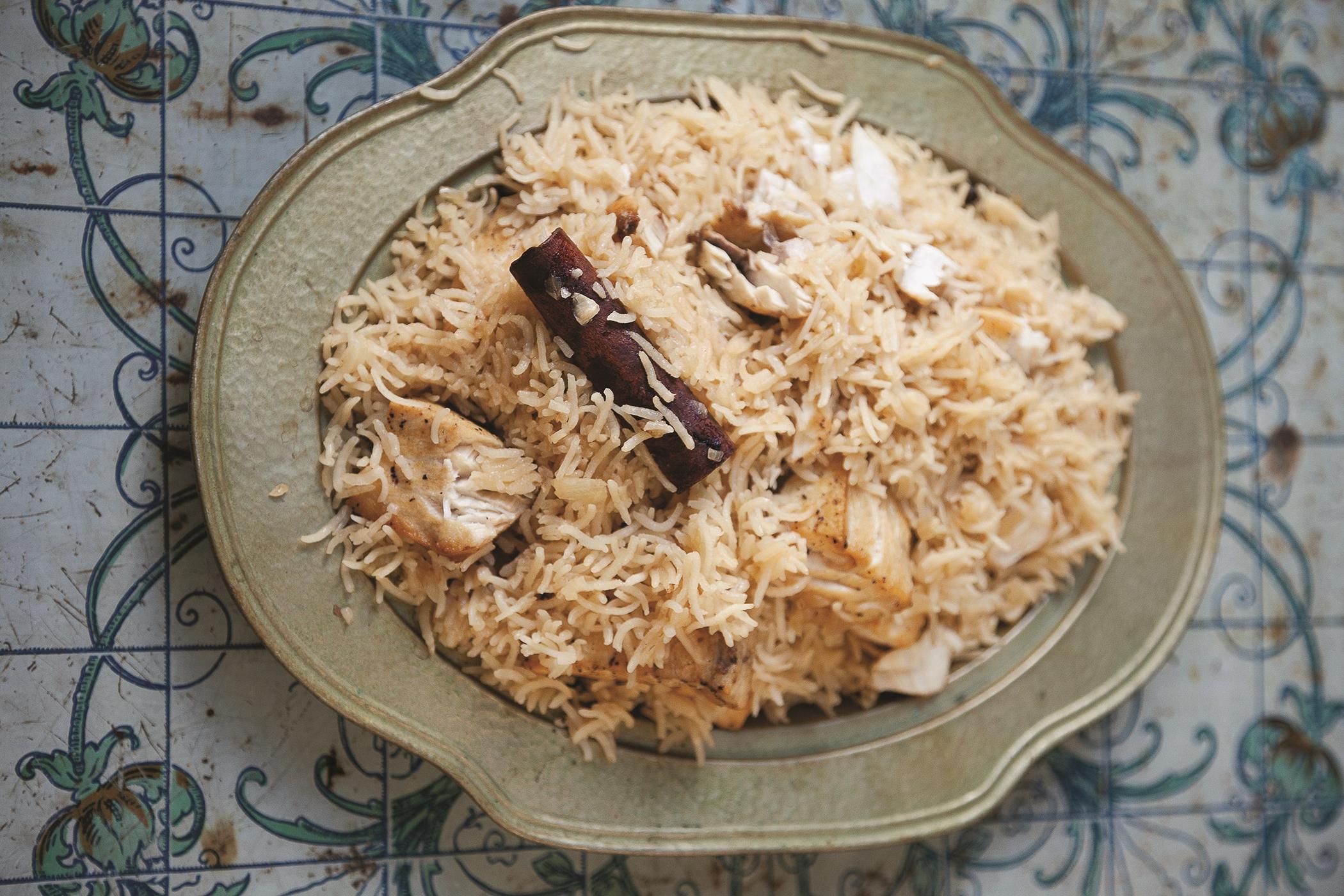 Sayadiyah (Salalah-Style Seared Fish in Rice)