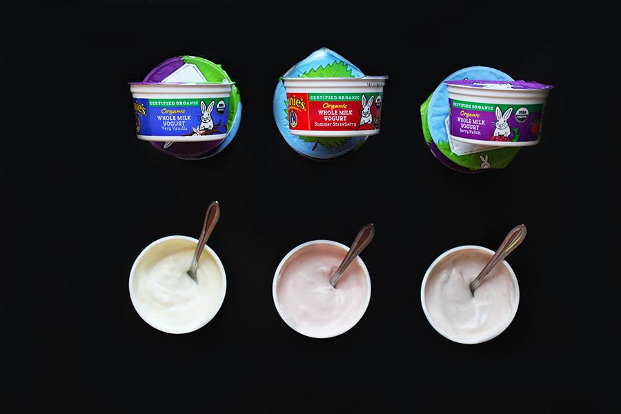 Annie's new line of organic, whole milk yogurt. #choosegood @annieshomegrown