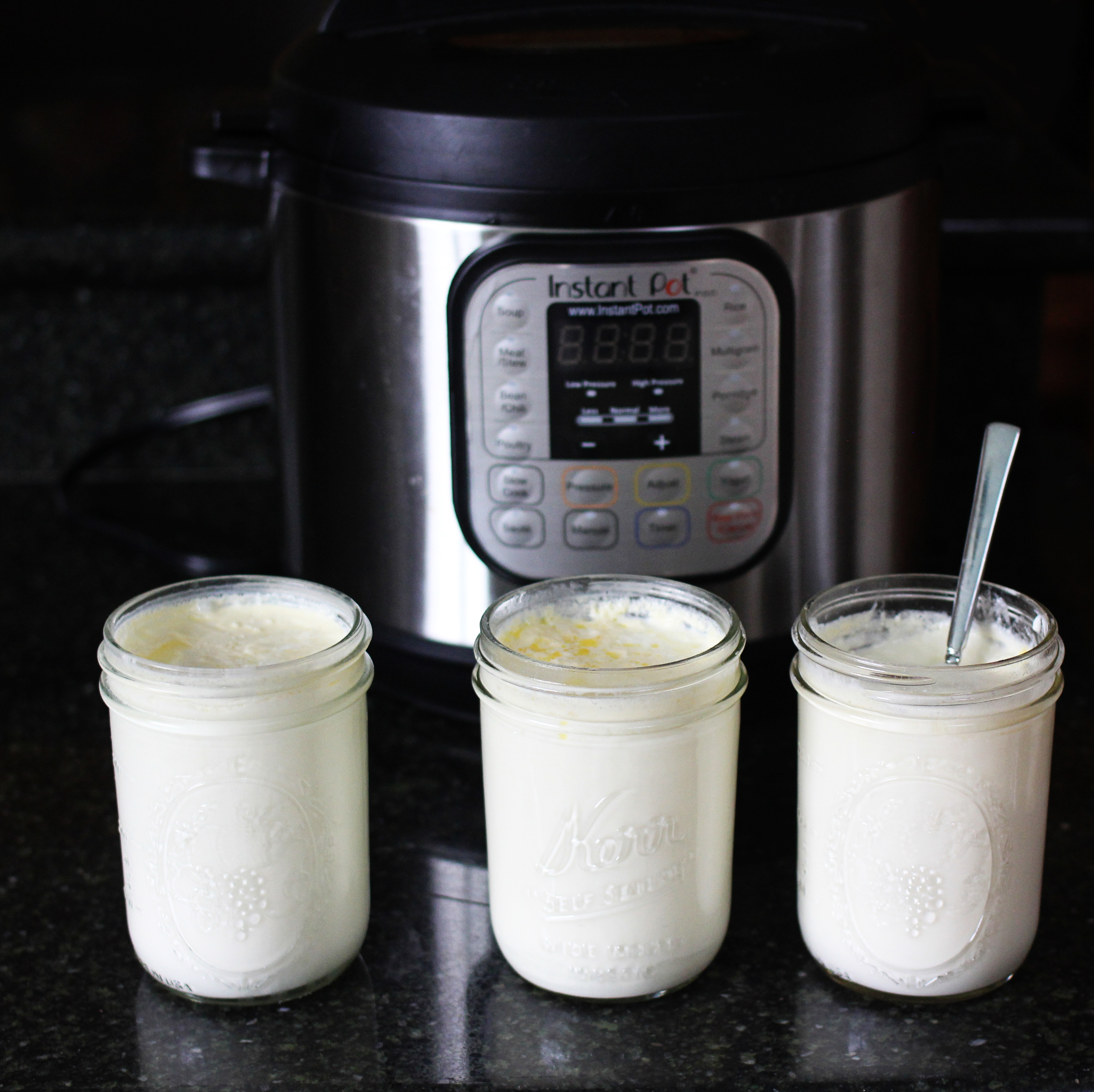 A step-by-step guide to making yogurt in an Instant Pot