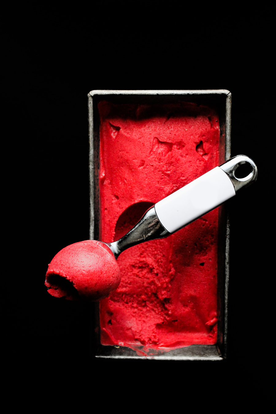 PLUM BALSAMIC WHEY SORBET | A perfect use for leftover whey from yogurtmaking.