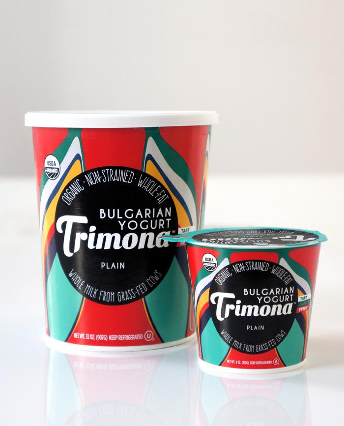 Trimona Yogurt Plain (32-ounce and 6-ounce)