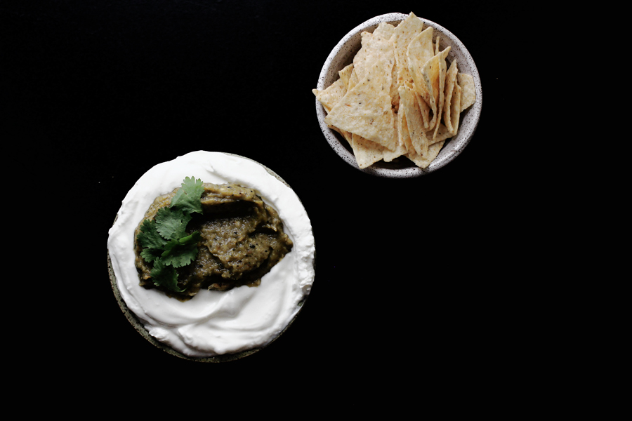 Hatch Chile Labneh