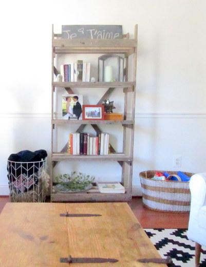 See the full tour of Chelsea's living room