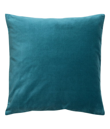 Dark Turquoise Velvet Cushion Cover - $9.99