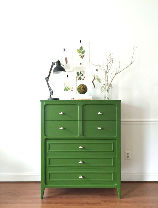 Emerald Green Highboy