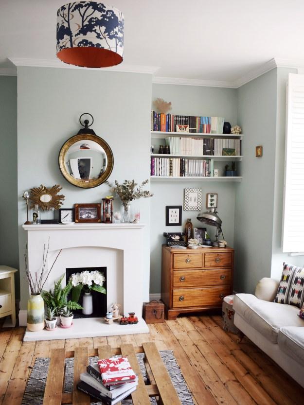 eclectic-modern-bohemian-vintage-interior-decor-farrow-ball-teresas-green-3.jpg