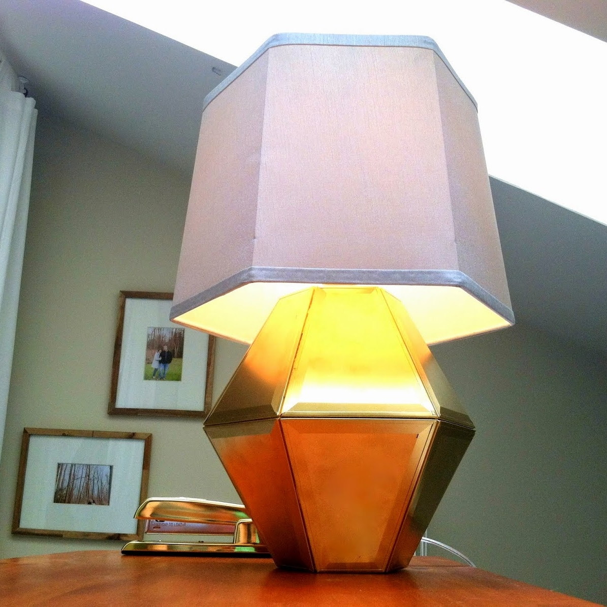 Geometric Lamp Copycat -