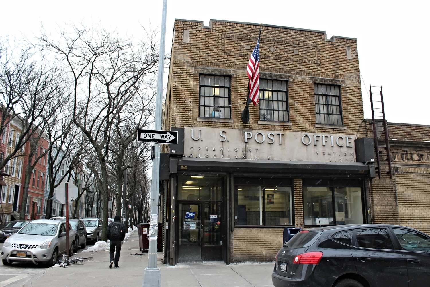 The Greenpoint US Post Office.