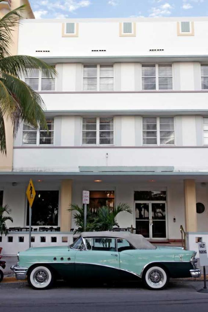 1950s Car in Miami