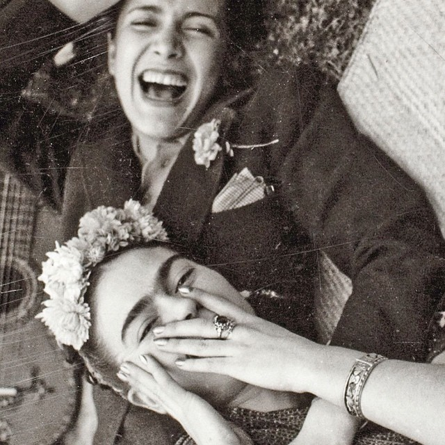 Frida and Chavela in 1937. Photographer unknown