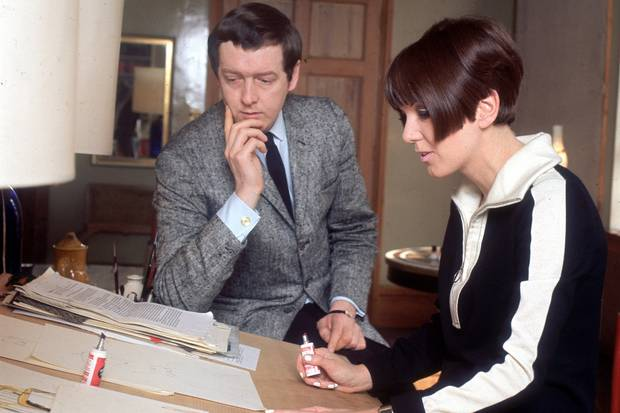 Mary Quant and her husband business partner Alexander Plunkett Greene  Photo courtesy of Keystone/Getty Images