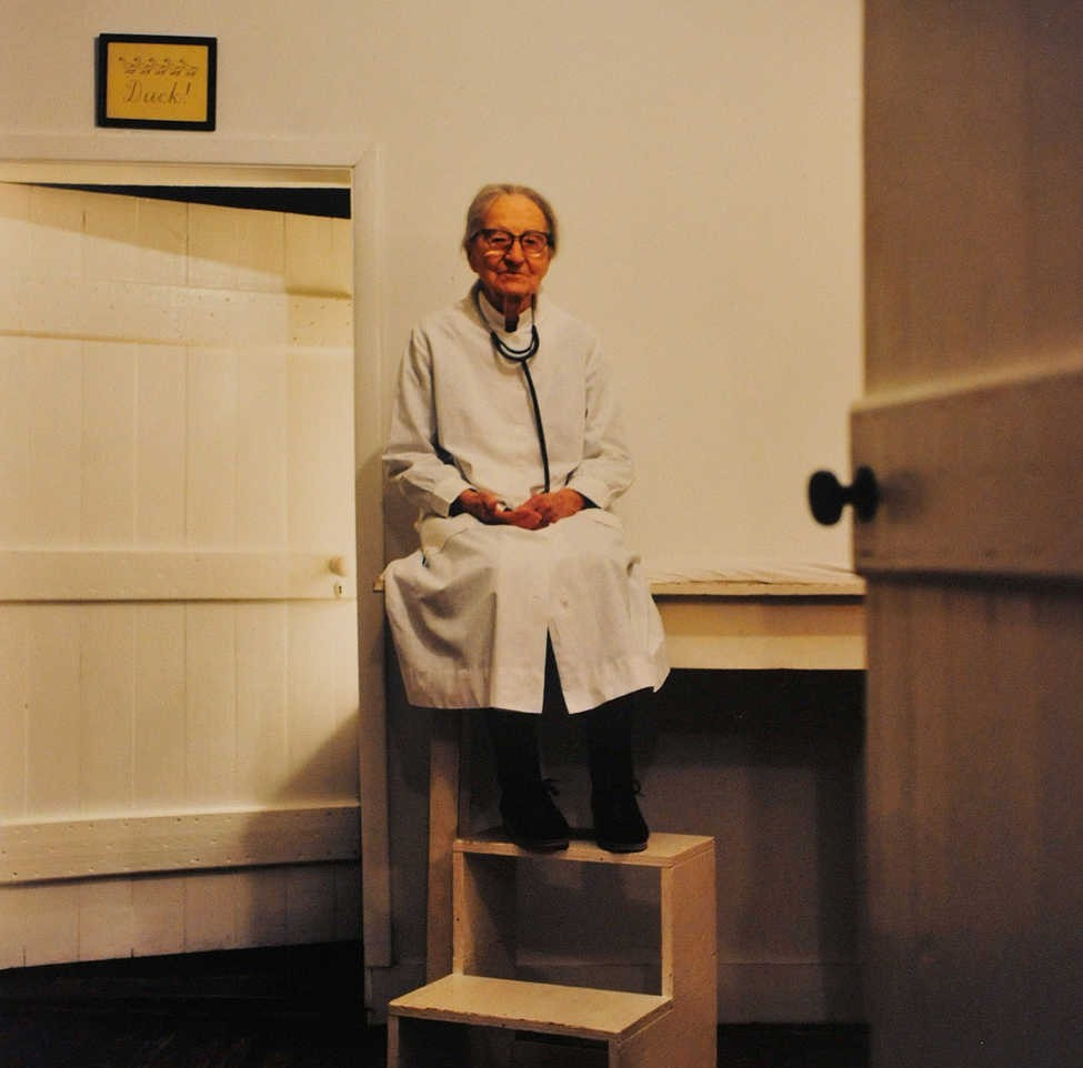 The pediatrician who practised medicine until she was 103 years old.