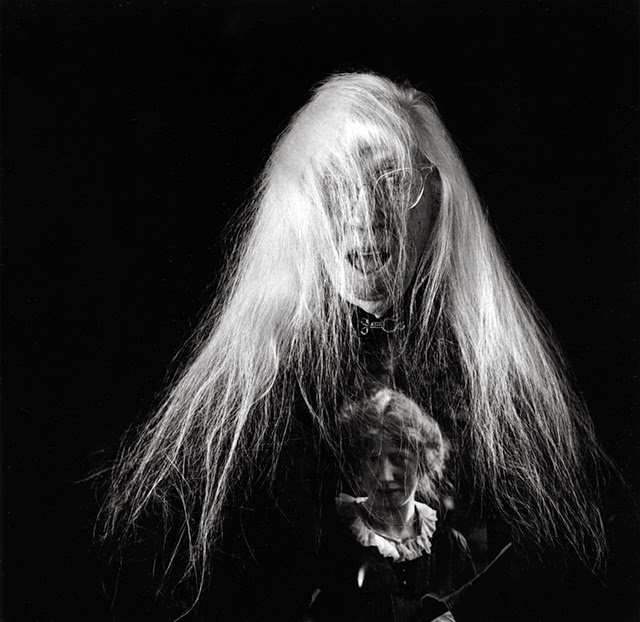 Cunningham self- portrait using double exposure