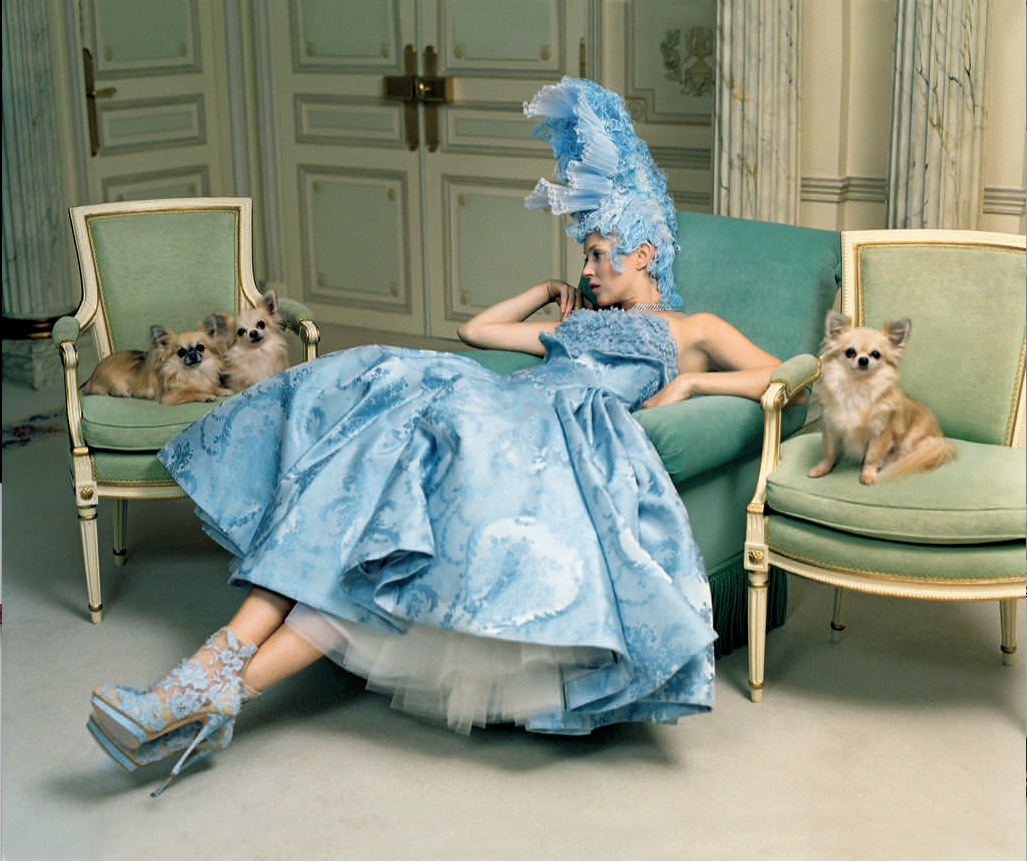 Kate Moss in Alexander McQueen: photo Tim Walker
