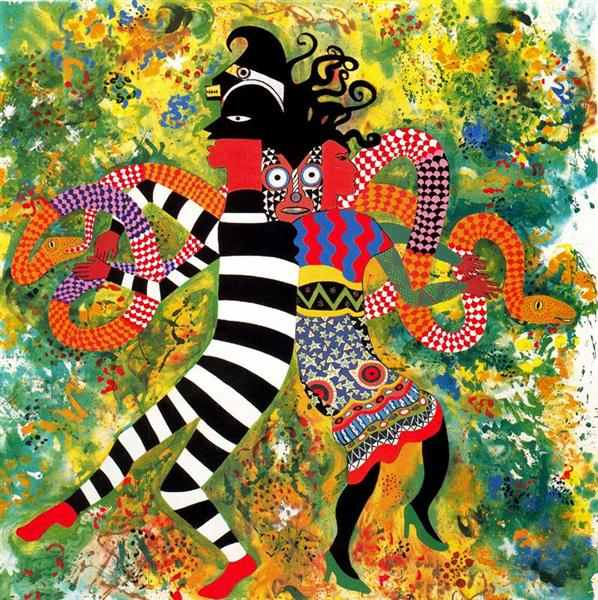 The Garden of Eden by Miriam Schapiro