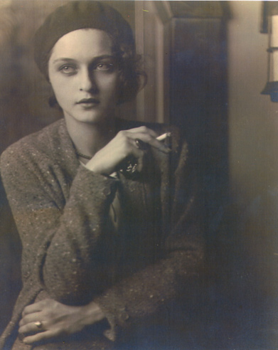 Portrait by Jon Boris, 1930