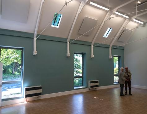 Renovated church hall