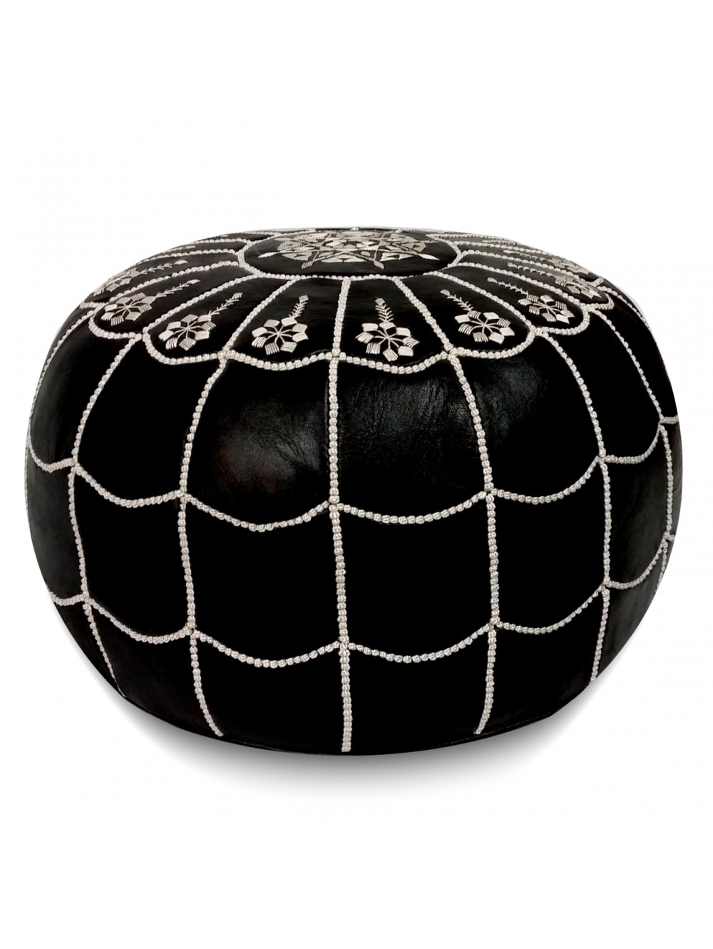 Though my other half may hate to hear this, I am on a bit of redecorating wave. Or at least trying to be. I think our place is lovely but could do with some refined updates as we get just a little bit older and more refined ourselves. And  this black leather pouf  is pretty incredible...