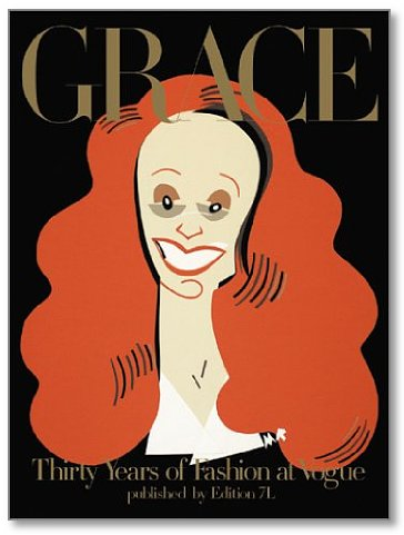 Grace Coddington is as big an icon as Vogue itself (sorry, Anna) and I am so excited that this  book  was just re-issued. Gimme.