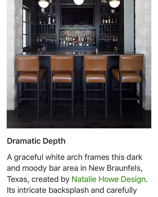 Nice to be recognized by Houzz for an in home bar project of mine. Link here:  https://www.houzz.com/ideabooks/114655630/list/trending-the-most-popular-new-home-bars-of-summer-2018.