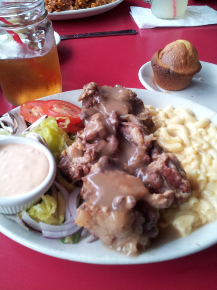 Tender ox tails and mac and cheese. (Yelp/Debra A.)