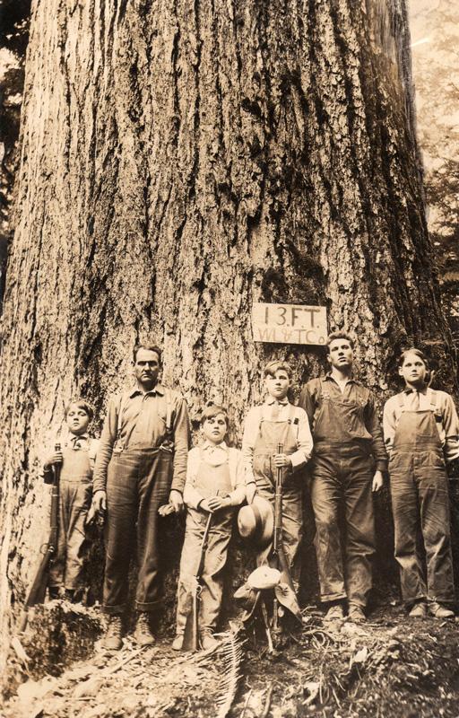 From left to right: Henry, Ira, John, Harry, Benny & Jack.
