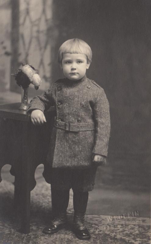 Sowell Carlstrom, age 5.