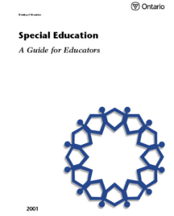 Special Education: A Guide for Educators   (2001)