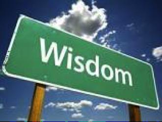 """Wisdom calls aloud in the street..."" Proverbs 1:20"