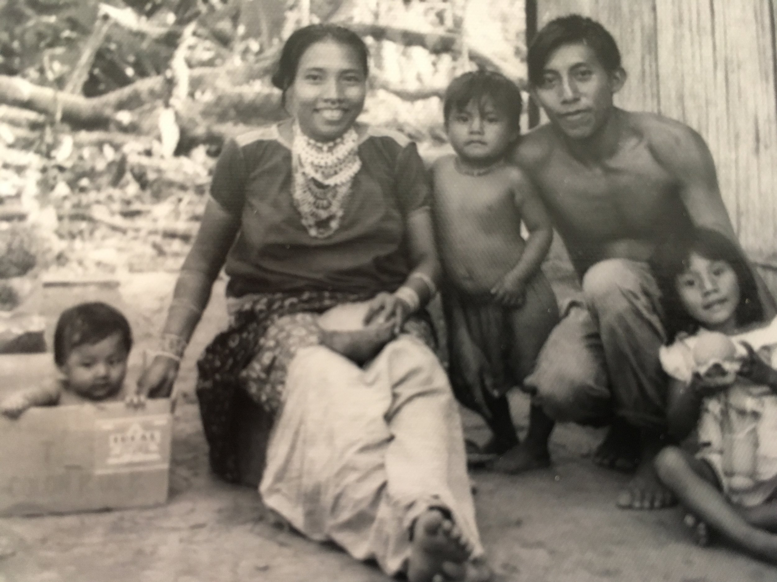 An image of my nearest Pucuro neighbors, Luis and Micheala Tovar