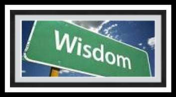 """WISDOM CALLS ALOUD IN THE STREET..."" PRO.1:20"