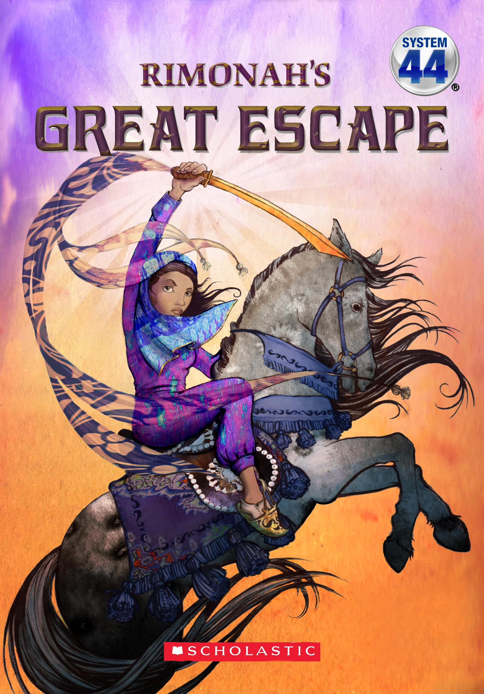 Rimonah's Great Escape for Scholastic  -  Art Director Kathi Gulotta