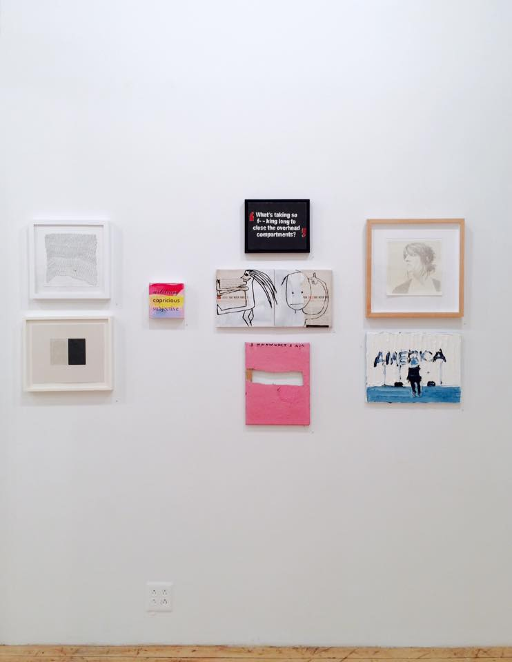 Installation image courtesy of The Painting Center