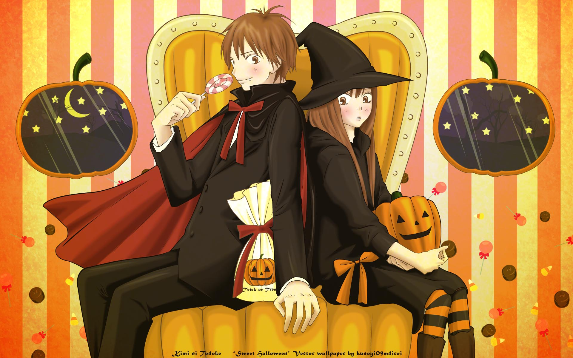Picture from Kimi Ni Todoke, one of my favorite manga.
