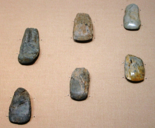 Paleolithic ground stone tools