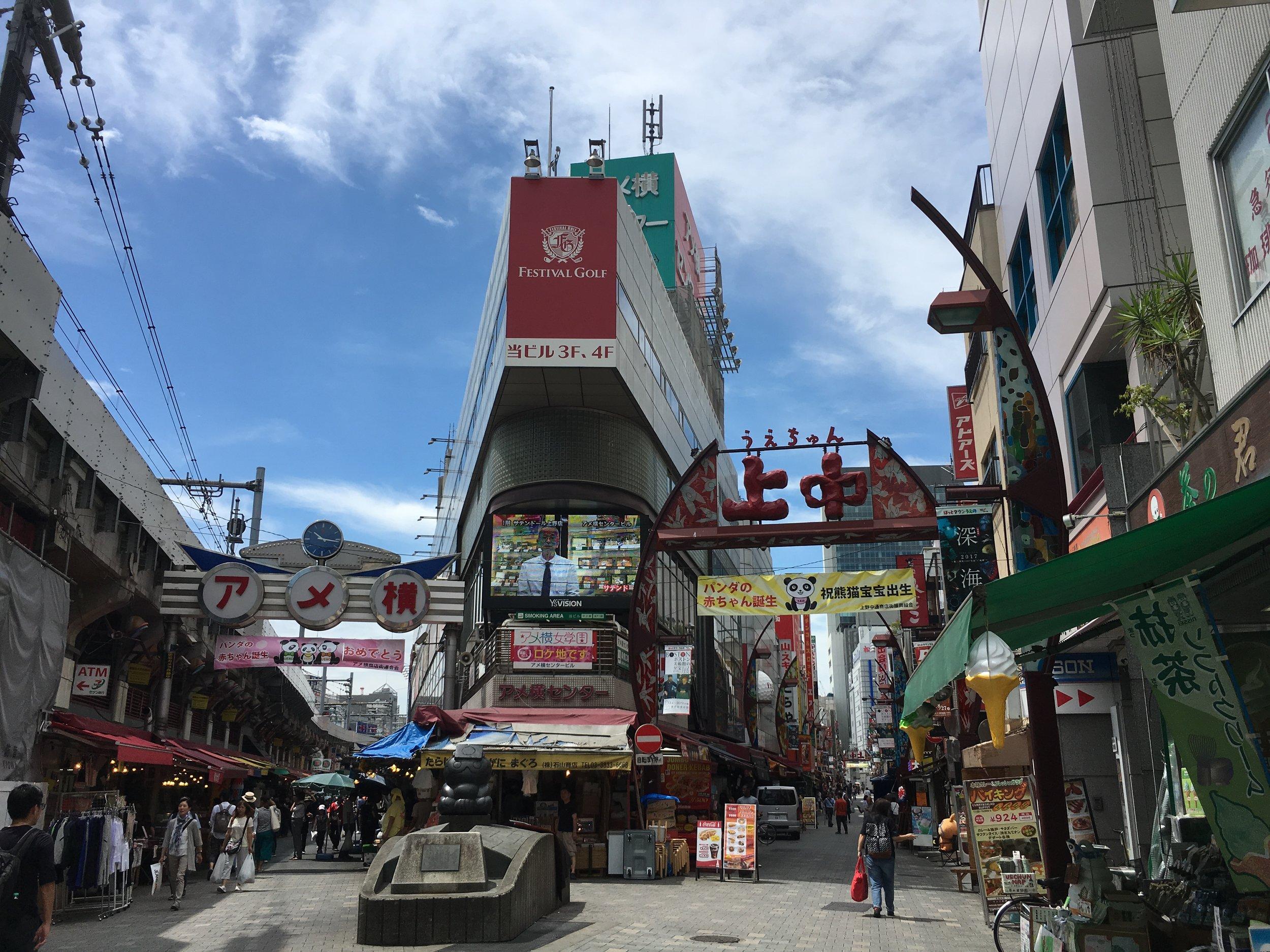 Ameyoko, Ueno Tokyo