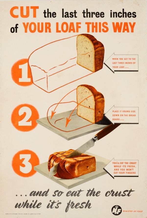 1940s bread propaganda.