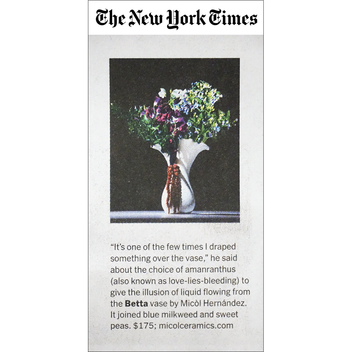 The New York Times, May 2019