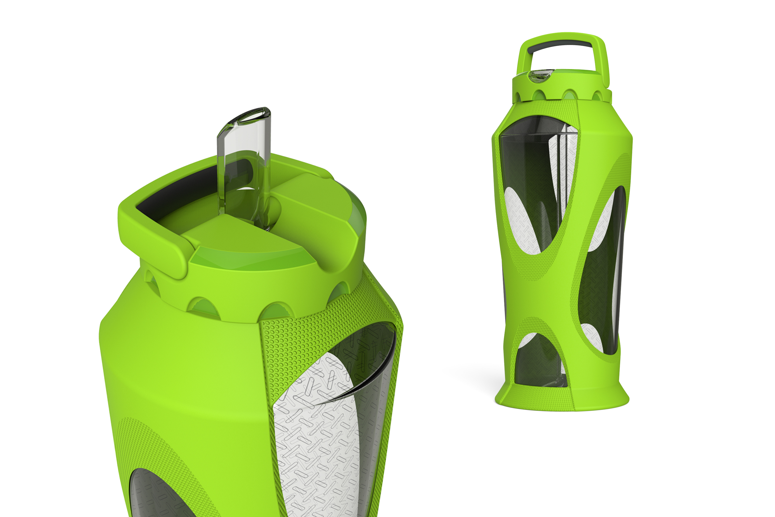 Leapfrog Zulu Water Bottle Concept  |  Product Design
