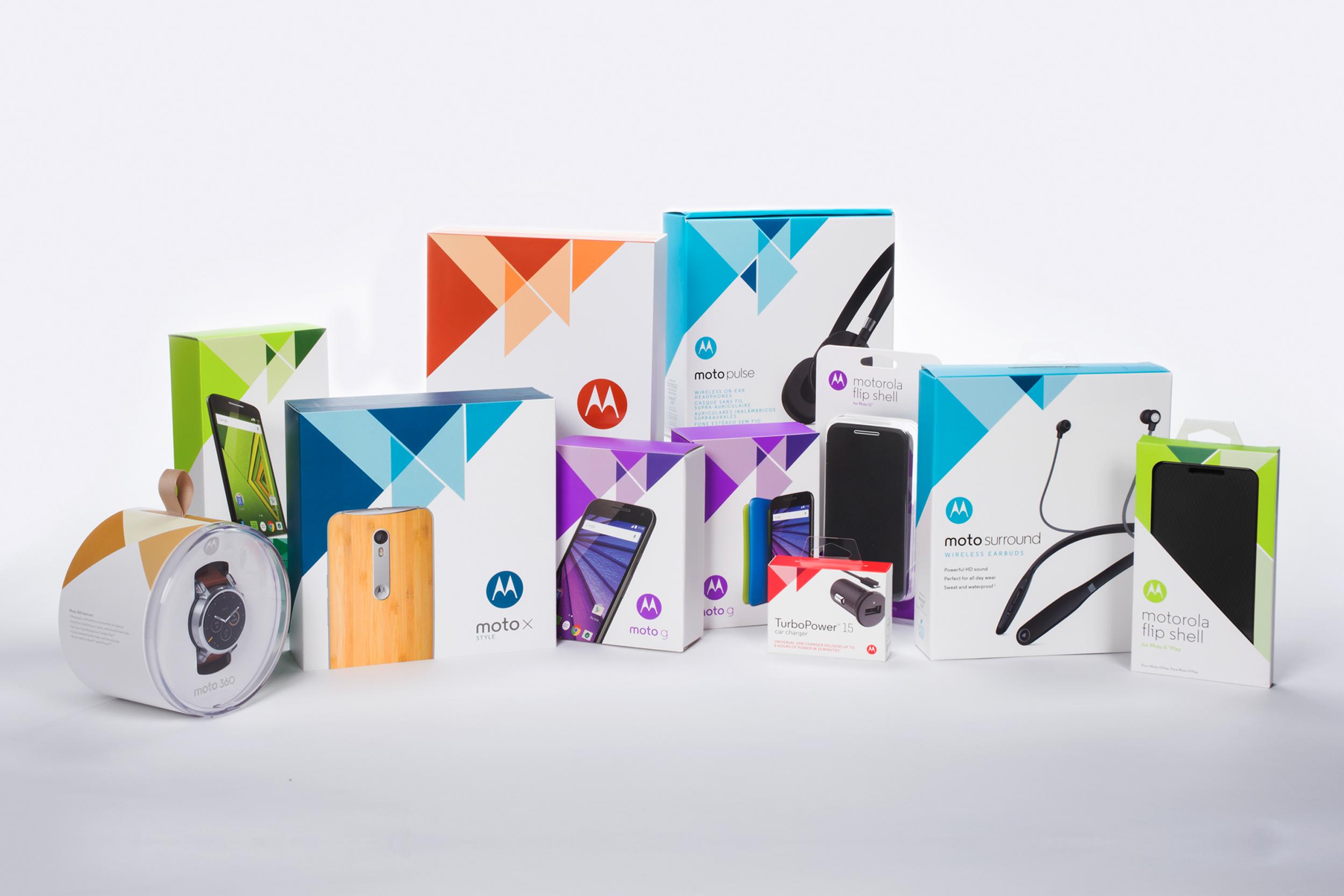 Motorola 2015 Packaging Portfolio  |  Packaging Structure Design