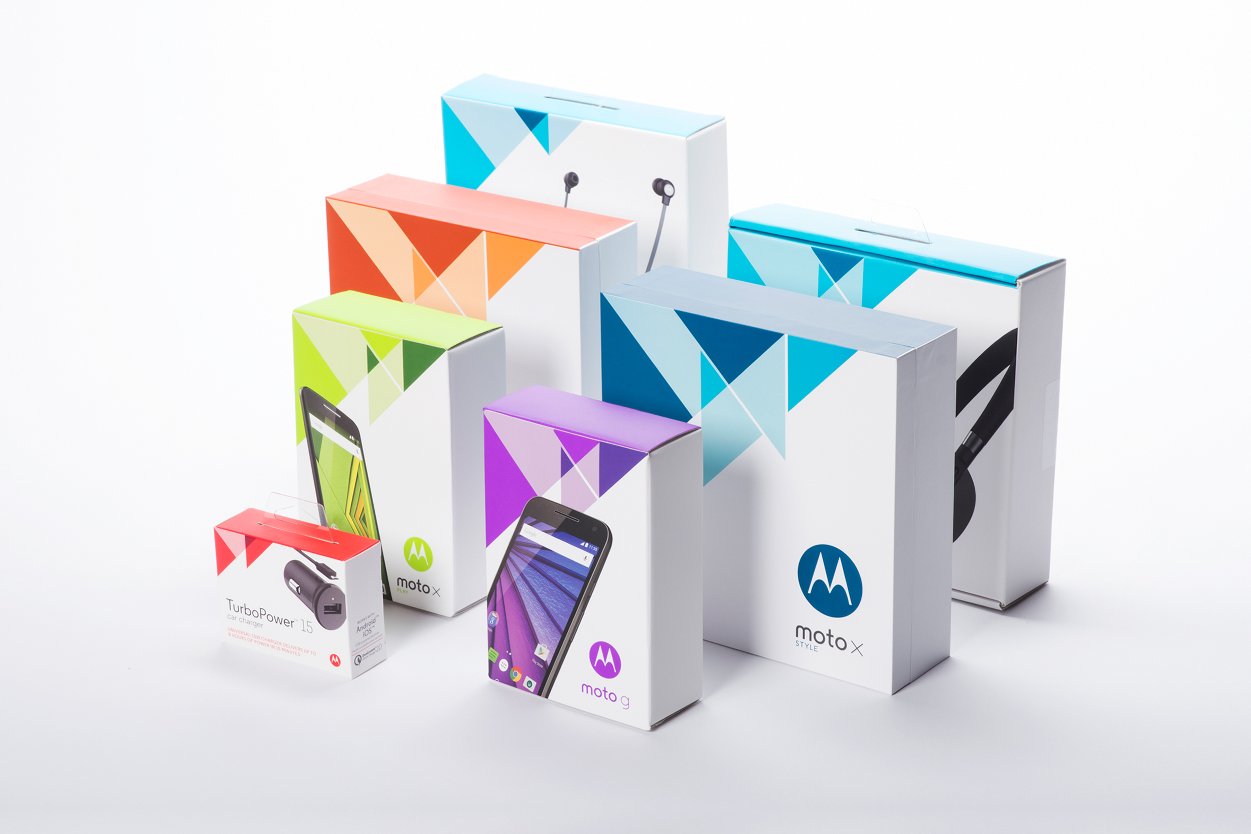 Motorola 2015 Packaging Portfolio  |  Packaging Structure Design