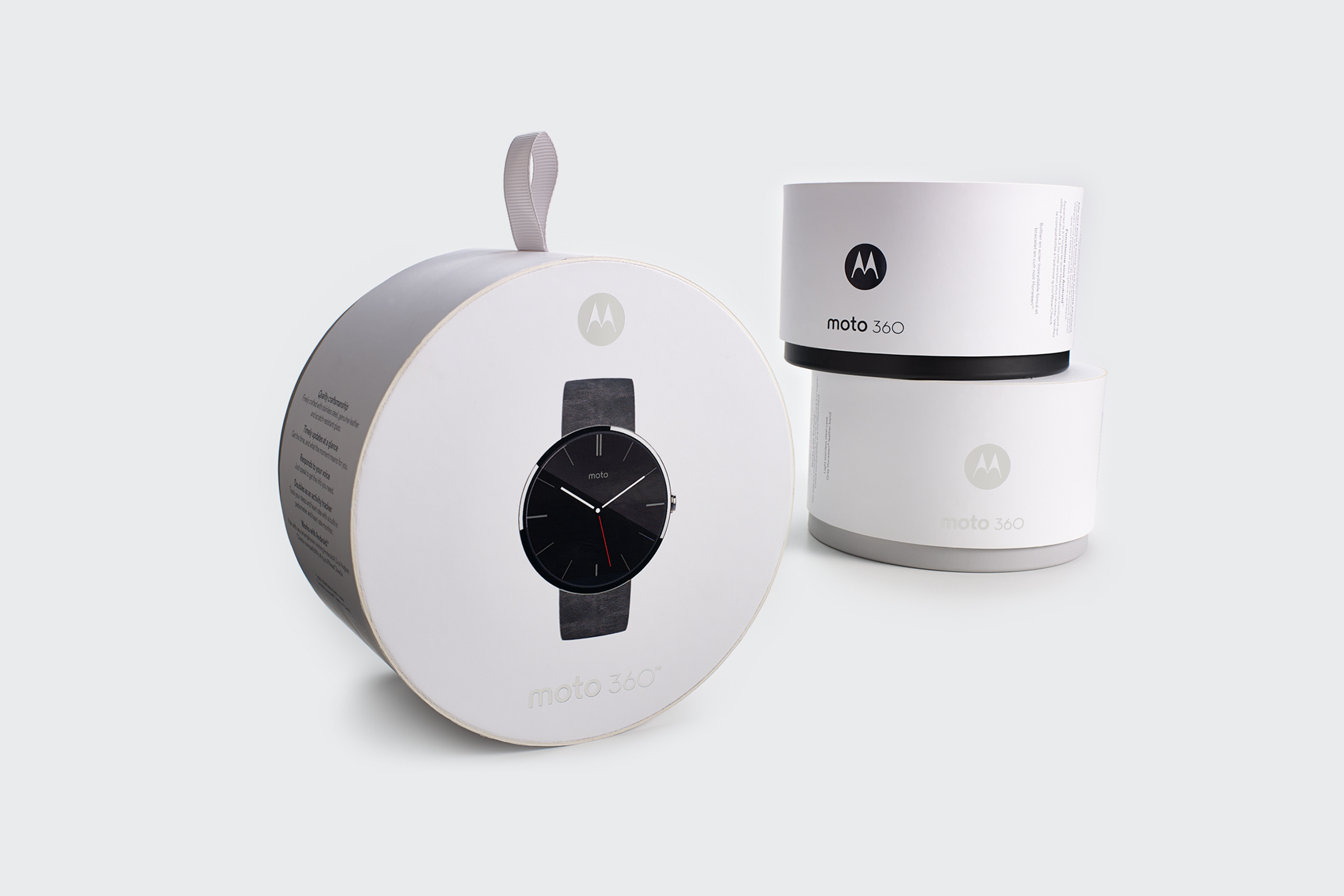 Motorola Moto 360 1st Gen  |  Packaging Structure Design